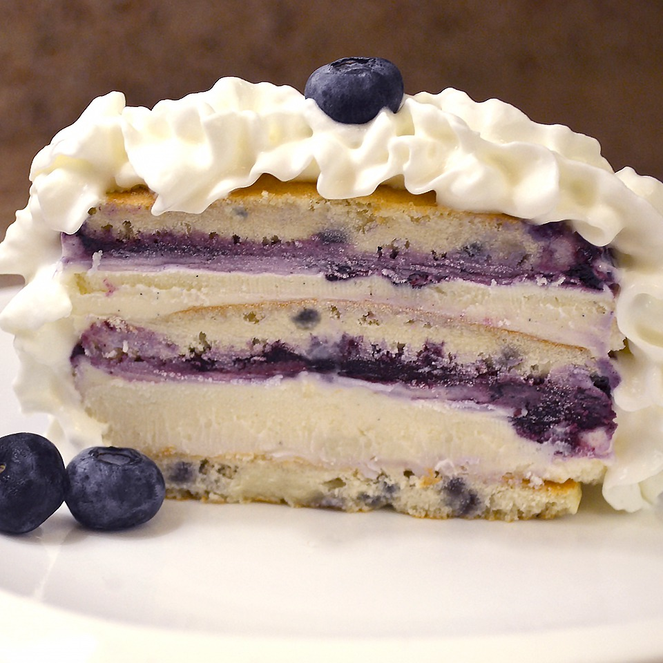 Blueberry Ice Cream Cake - View Recipe