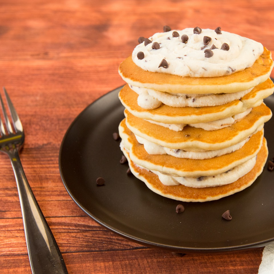 Chocolate Chip Cannoli Stack - View Recipe