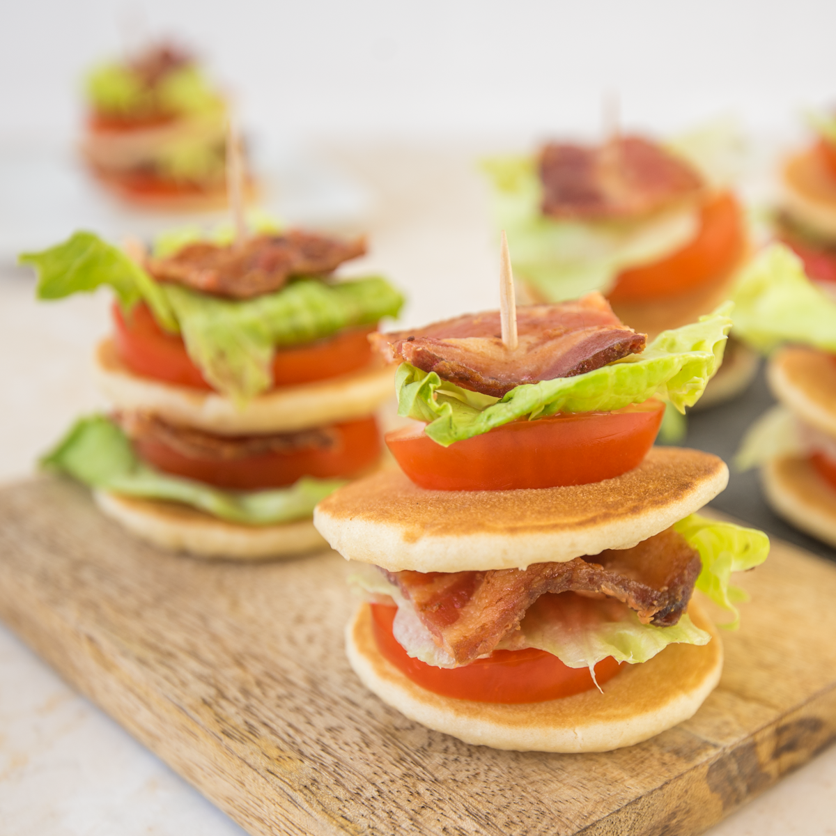 Mini BLTs - Pinterest