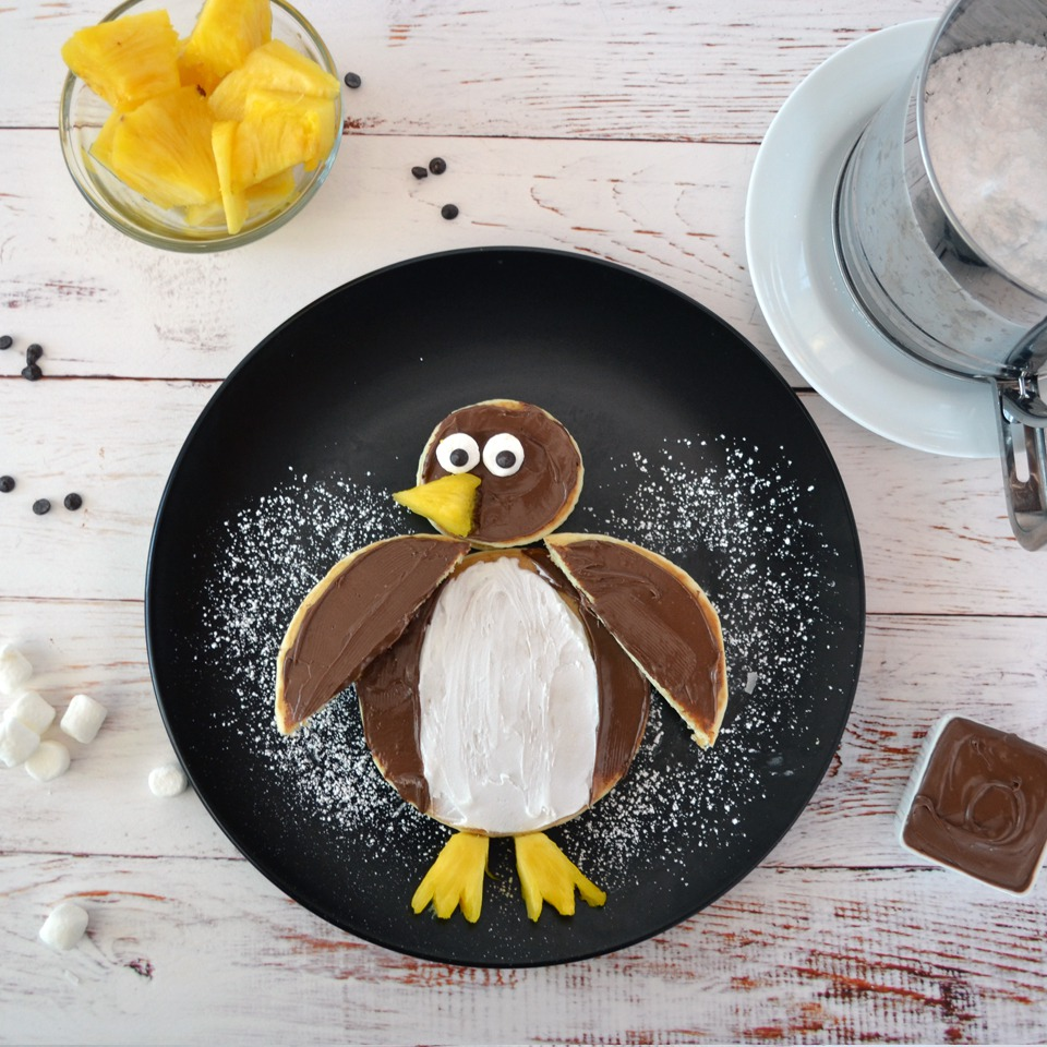 Pancake Penguin - View Recipe