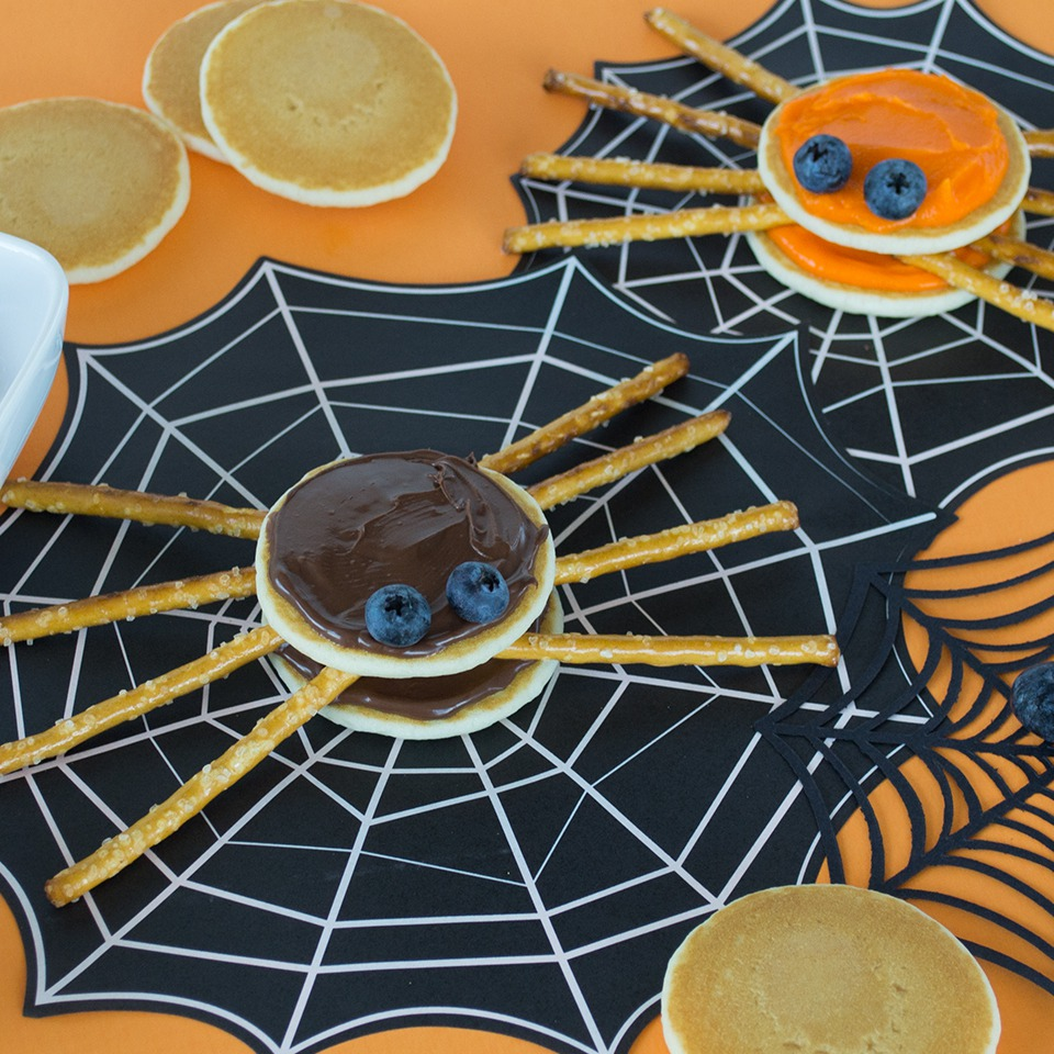 Mini Spooky Spiders - View Recipe