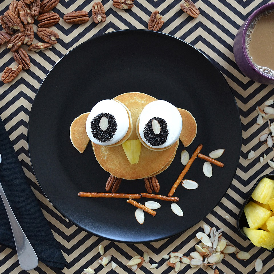 Owl Pancake - View Recipe