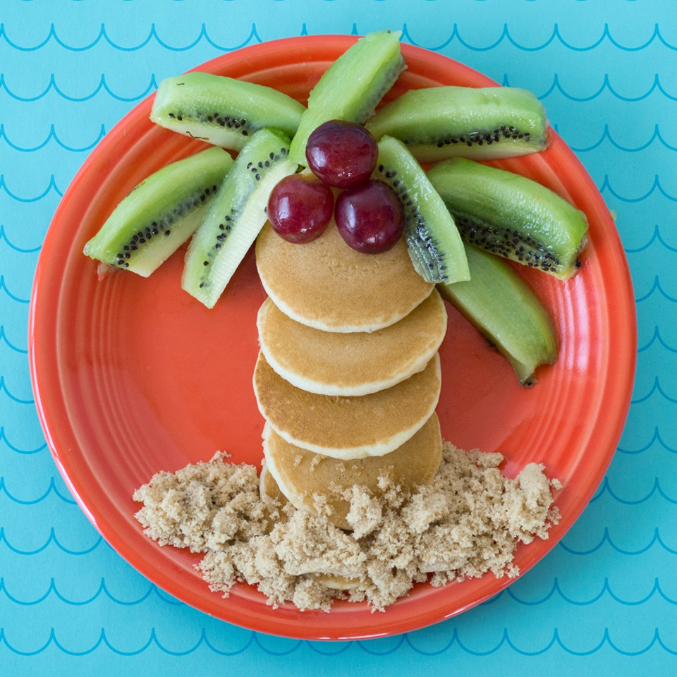 Pancake Palm Tree - View Recipe