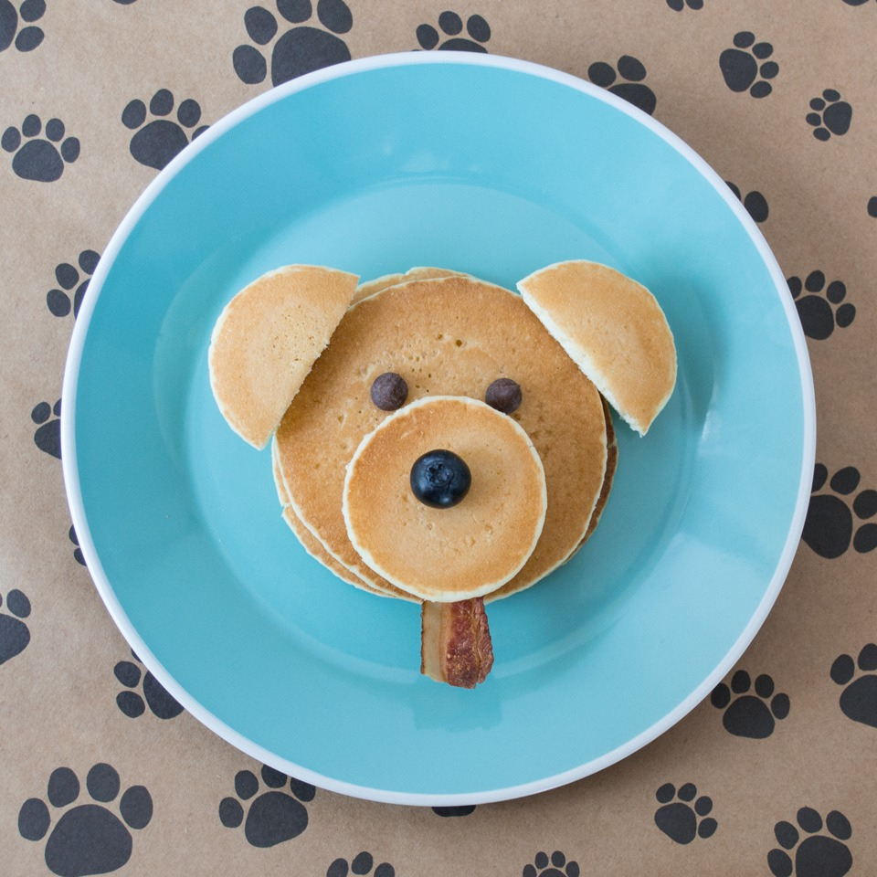 Puppy Pancakes - Pinterest