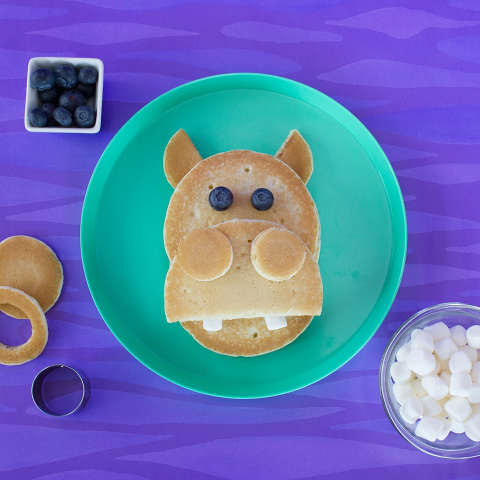 Hungry Hippo Pancakes - View Recipe