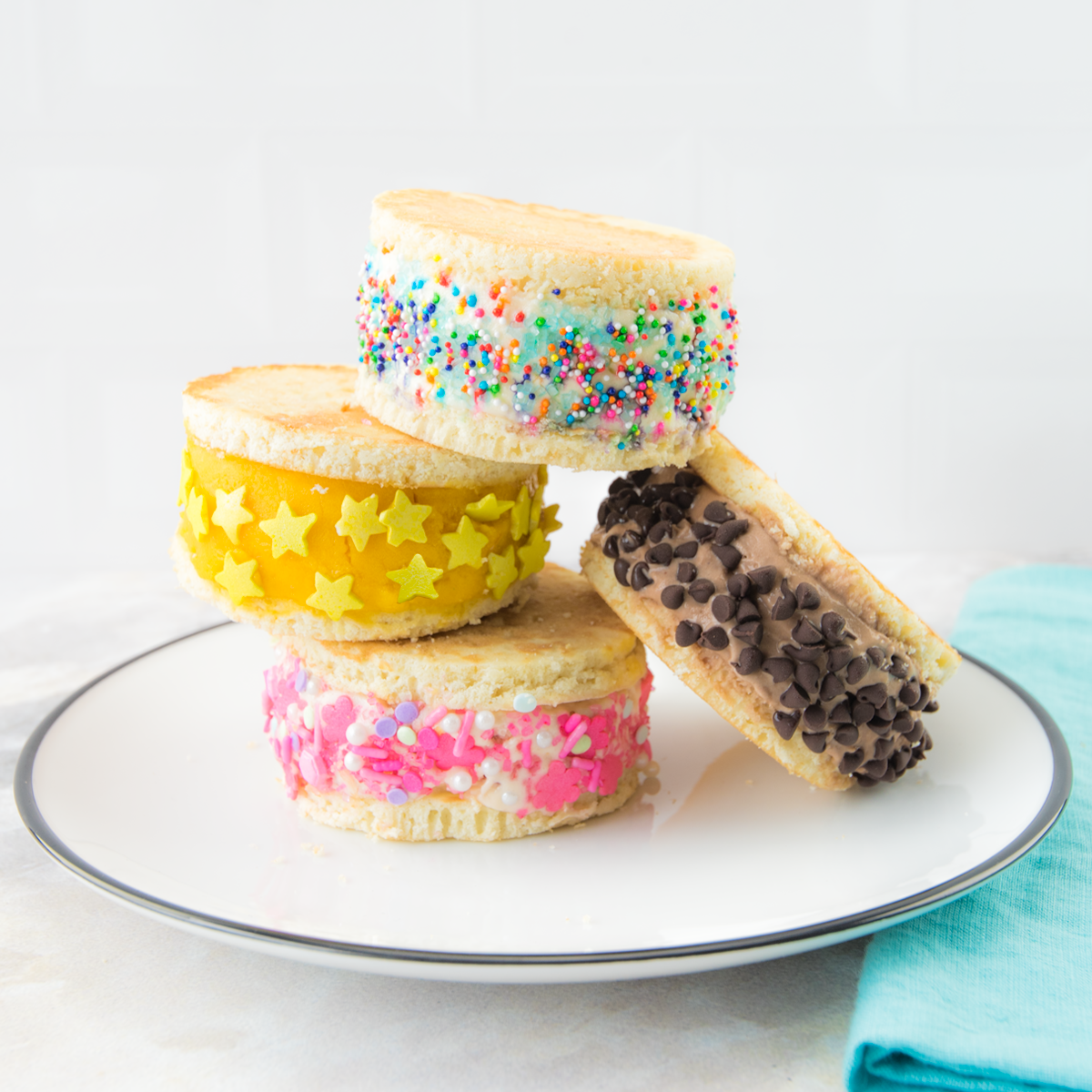 Mini Ice Cream Sandwiches - View Recipe