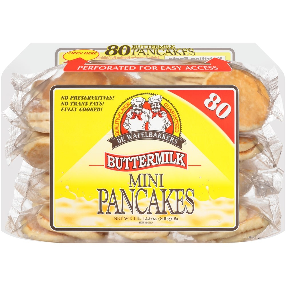 Mini Buttermilk Pancakes
